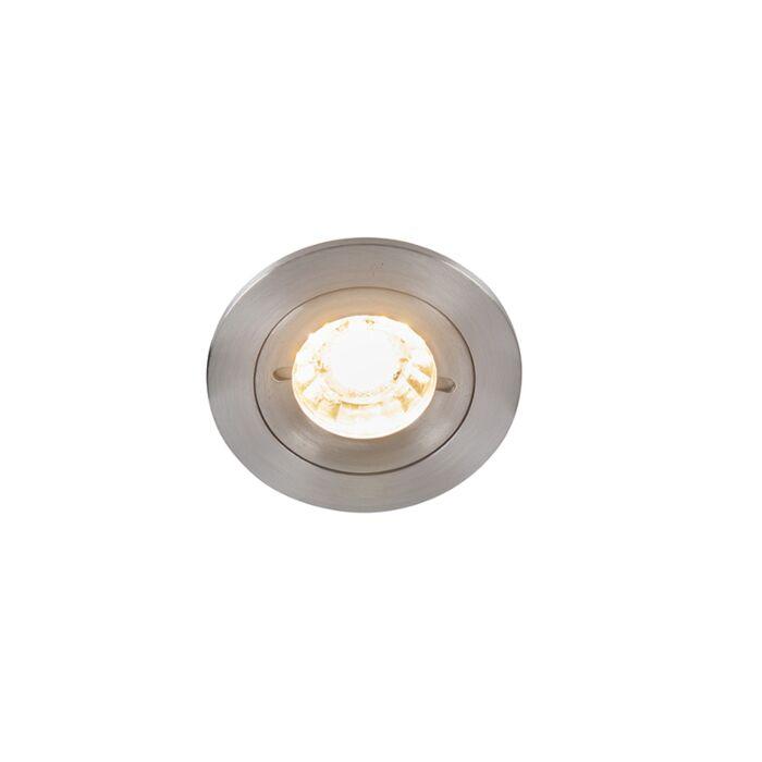 Spot-modern-încastrat-din-aluminiu-IP44---Xena-Round