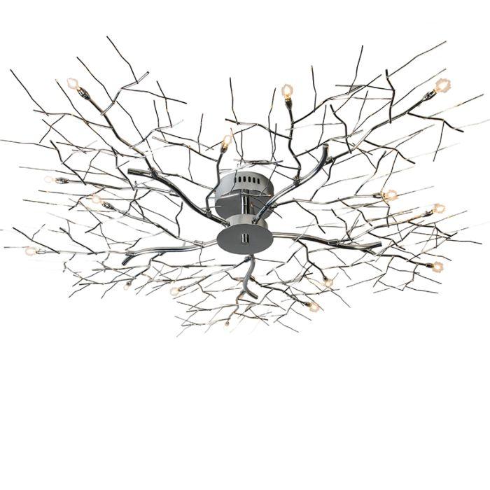 Lampă-de-tavan-Forest-15-crom