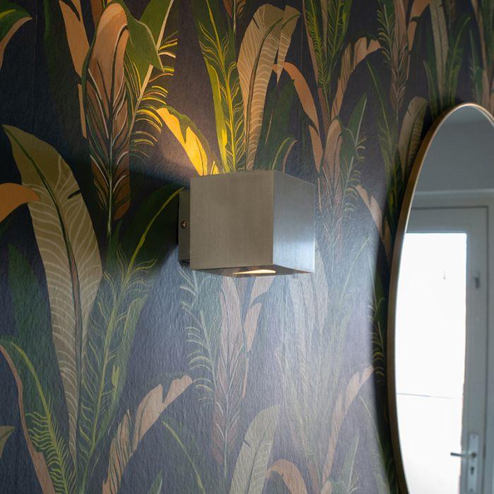 Lampă-de-perete-modernă-din-aluminiu-pătrat---Efect