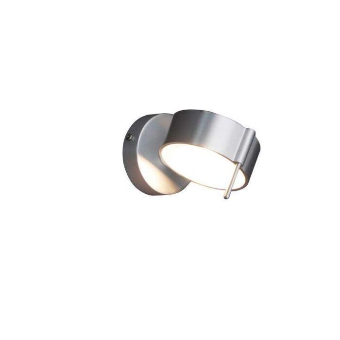 Aplica-de-perete-Eye-1-aluminiu