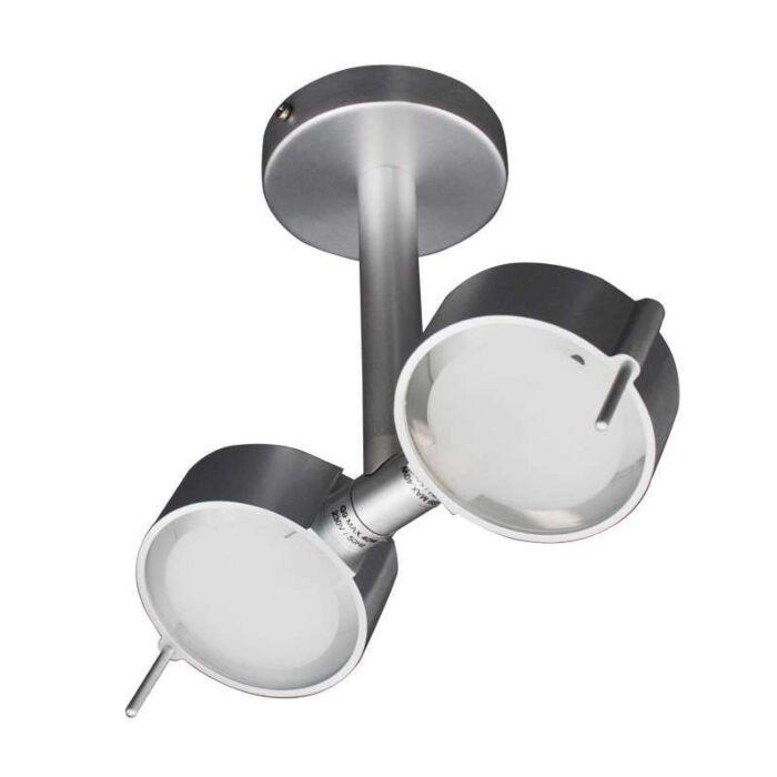 Lampă-de-tavan-Eye-2-aluminiu