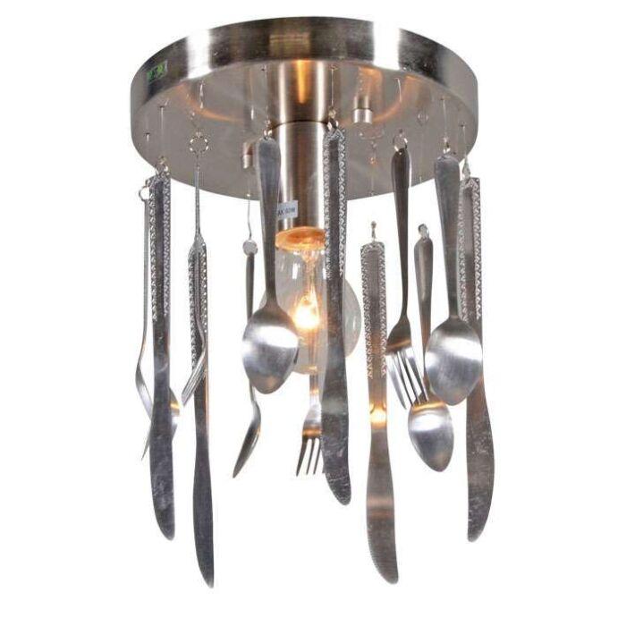 Lampă-de-tavan-din-oțel-de-bucătărie