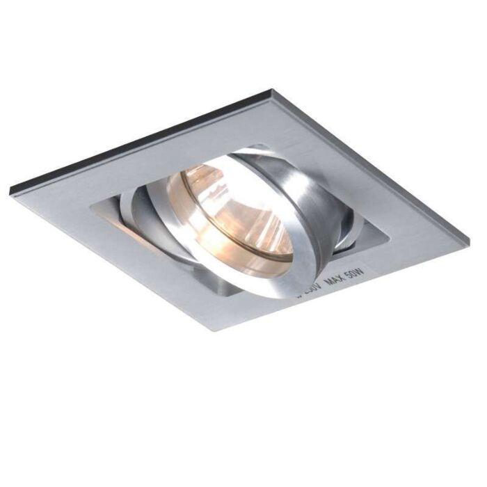 Spot-încastrat-Quadro-1-aluminiu
