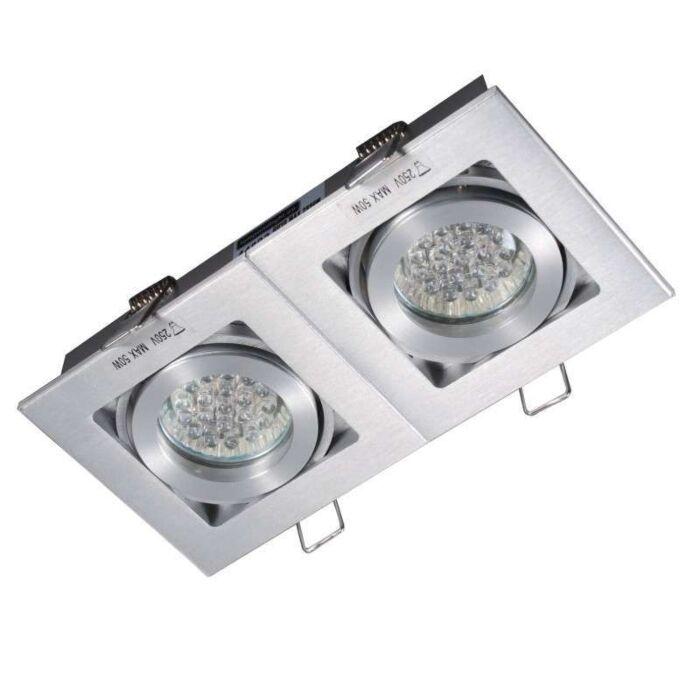 Spot-încorporat-Quadro-2-din-aluminiu