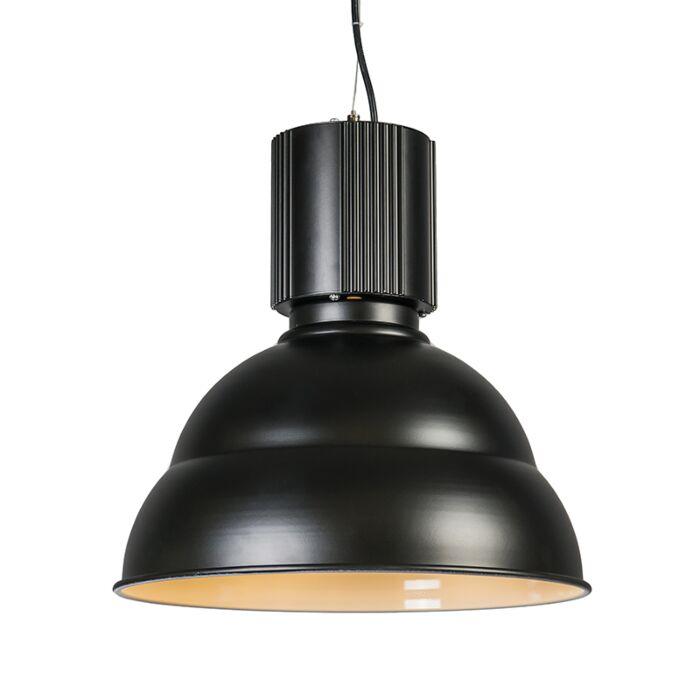 Lampă-suspendată-neagră