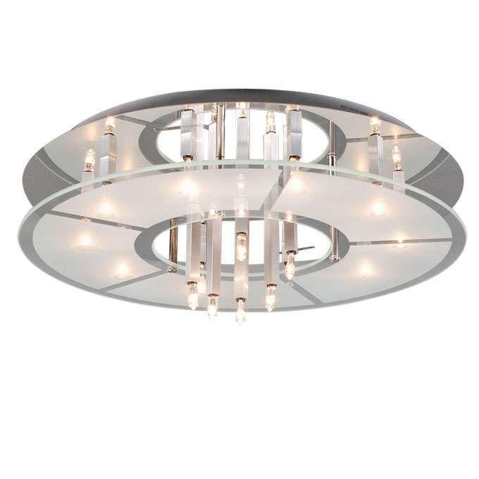 Lampă-de-tavan-Circle-16-crom