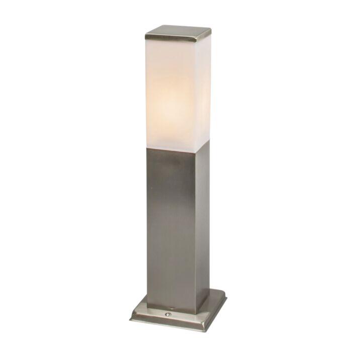 Lampă-modernă-de-exterior-45-cm-oțel---Malios