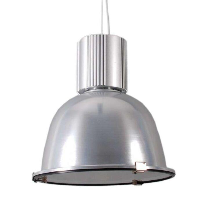 Lampă-suspendată-industrială-argintie---Silvie