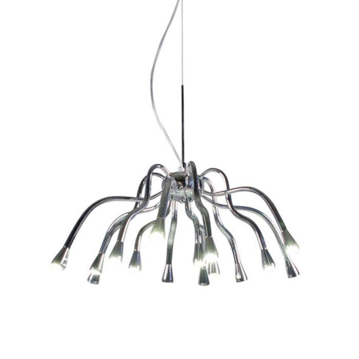 Lampă-suspendată-Angeline-LED-crom
