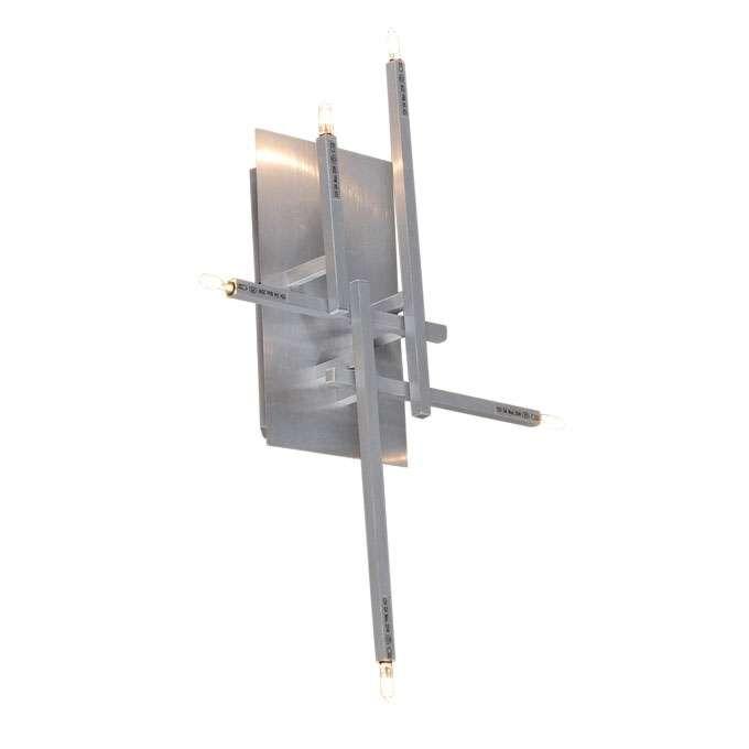 Aplica-de-perete-/-Plafoniera-Rodi-5-aluminiu