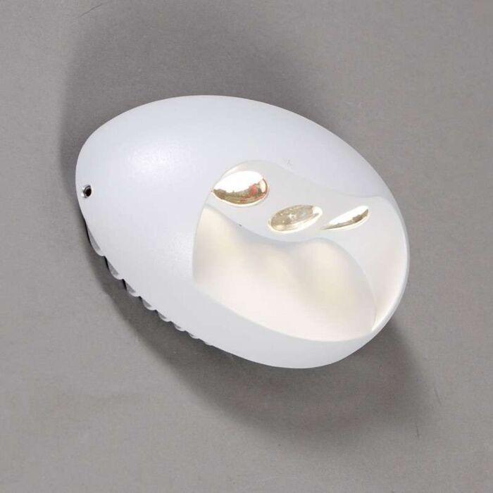 Aplica-de-perete-Pole-LED-alb