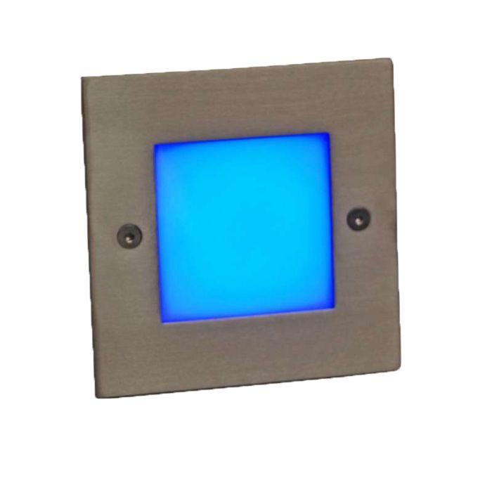 Lampă-LED-încastrată-LEDlite-Square-10-albastru