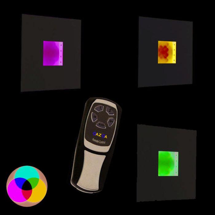 Aplica-de-perete-Placă-RGB-LED-alb