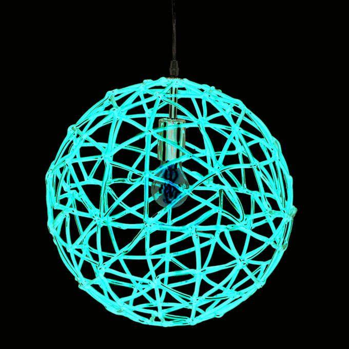 Lampă-suspendată-Birdy-40-roșie