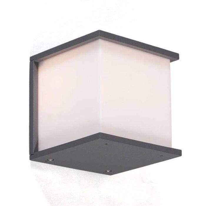 Lampă-de-exterior-Qubec-grafit