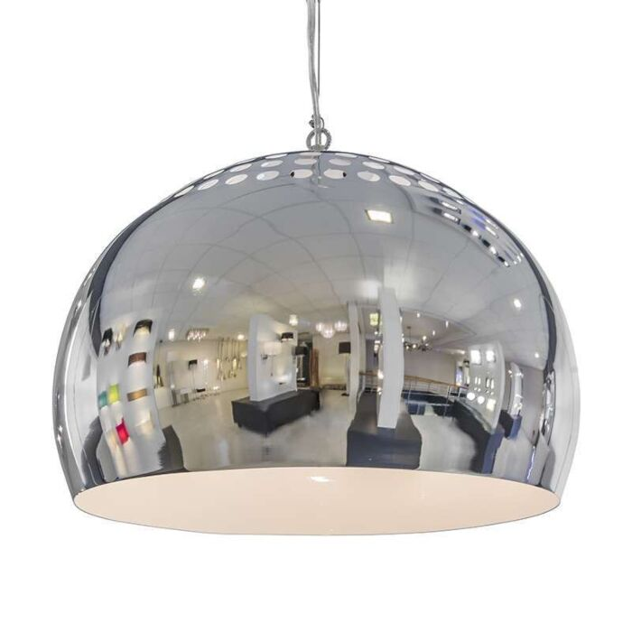Lampă-suspendată-Fermo-40cm-crom