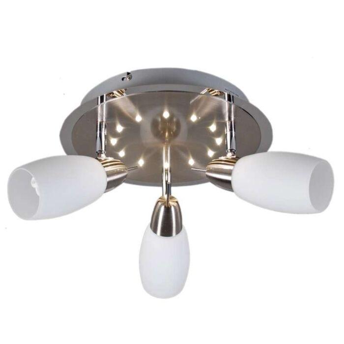 Lampă-de-plafon-spot-Atom-3-LED-rotund