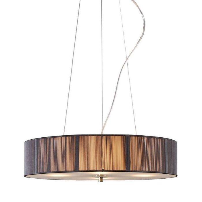 Lampă-suspendată-Cablu-rotund-50-antracit