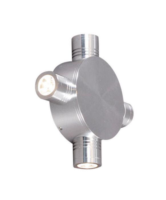 Lampă-de-perete-Star-LED-4-aluminiu