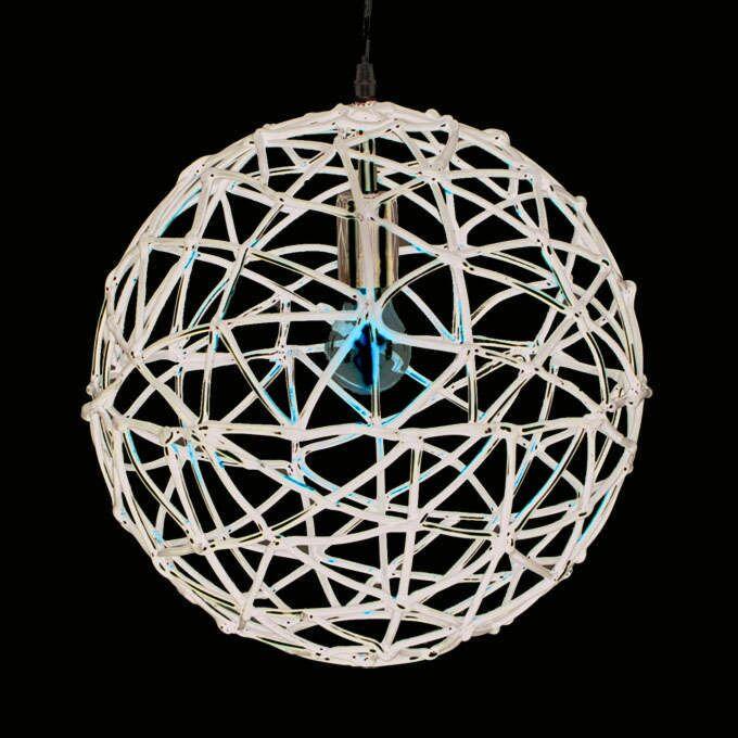 Lampă-suspendată-Birdy-40-neagră