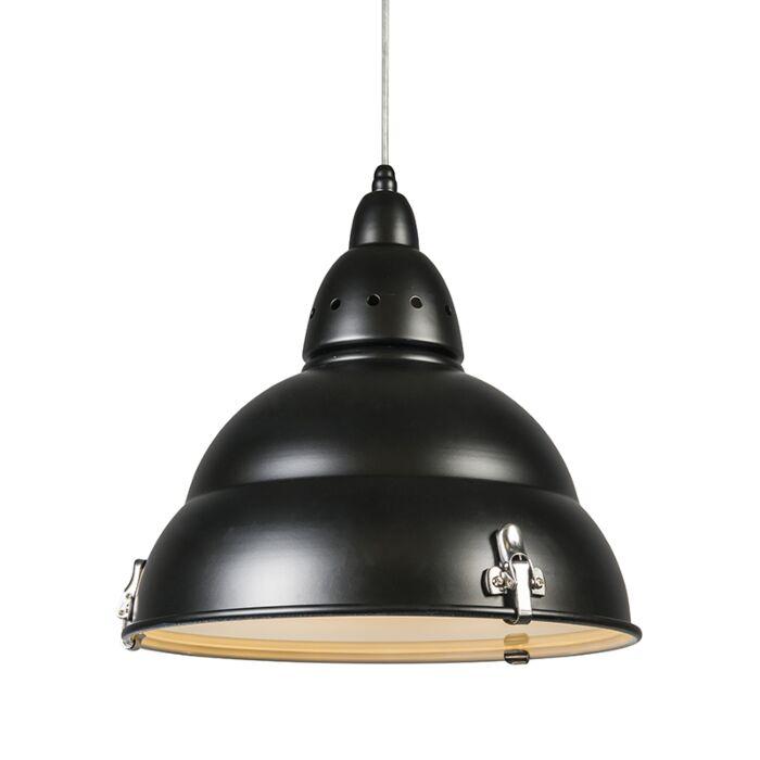Lampă-suspendată-negru-din-fabrică