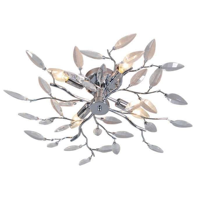 Lampă-de-tavan-Forest-4-Glass-crom