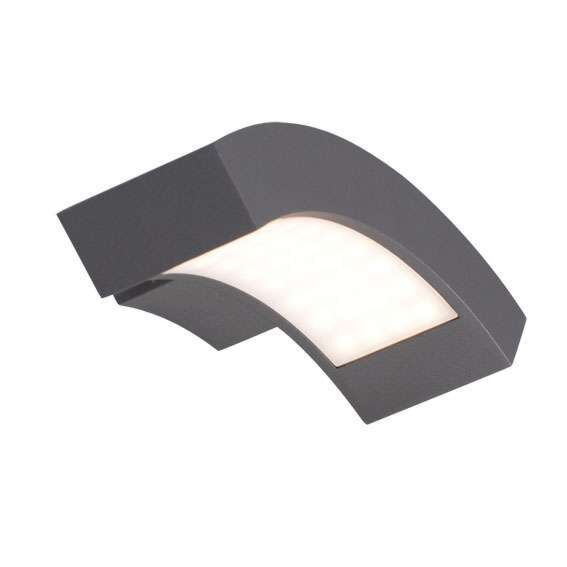 Lampă-de-exterior-Suedia-LED-grafit-de-perete