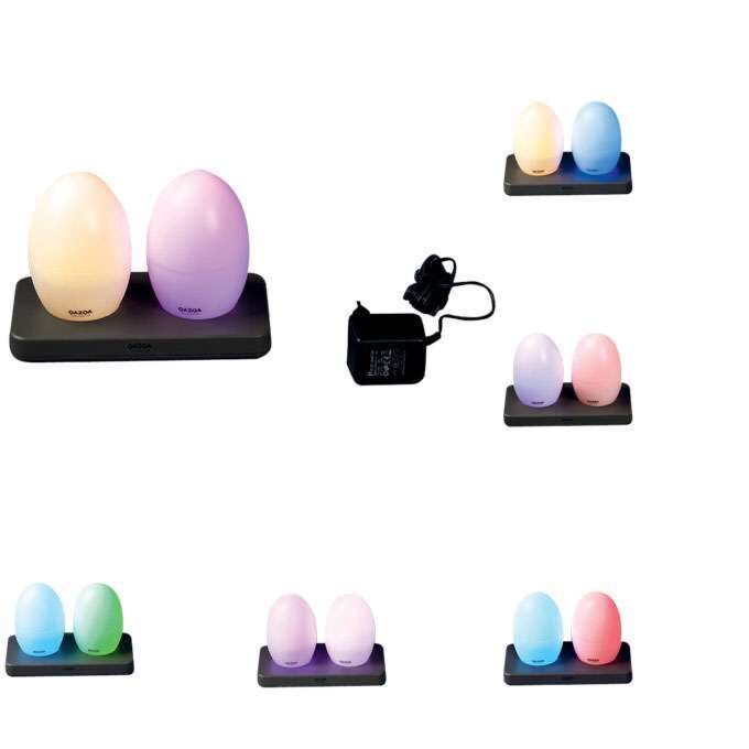 Set-de-două-lămpi-LED-EGG-reîncărcabile