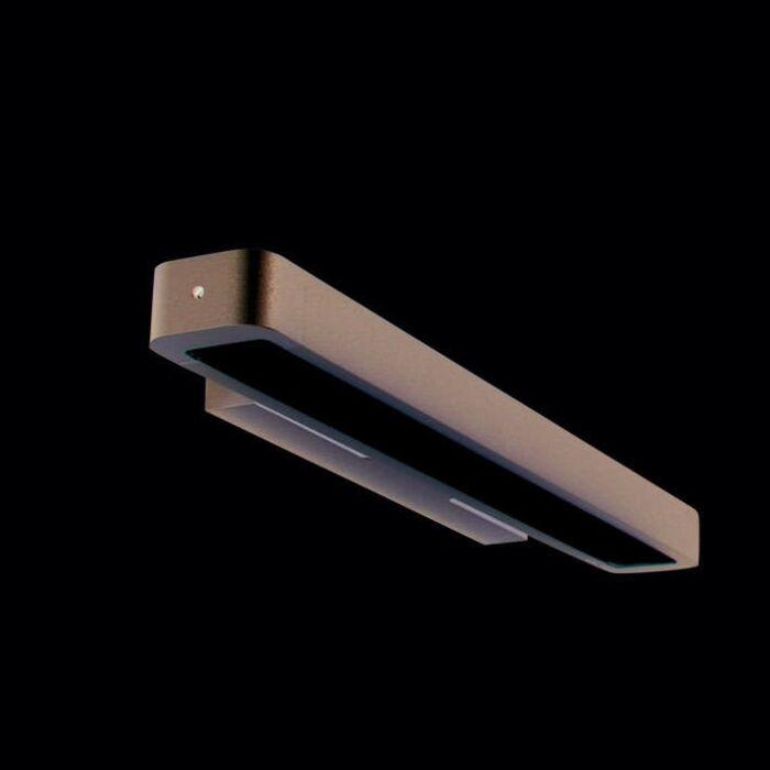 Aplica-de-perete-Tube-U-14W-argintiu