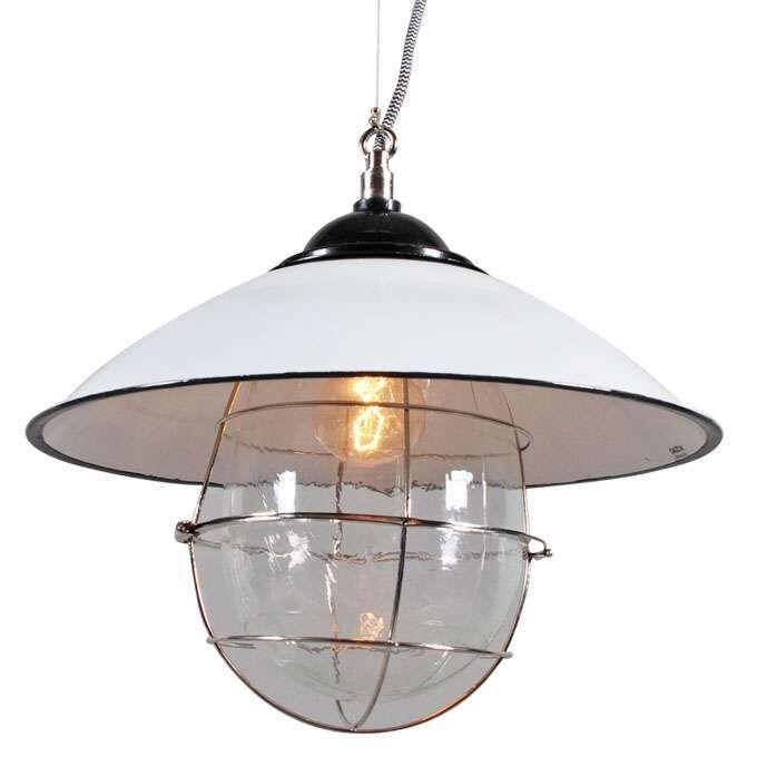Lampă-suspendată-Skipper-alb