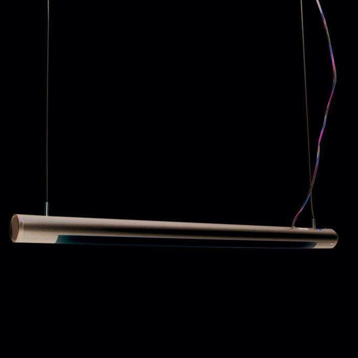 Lampă-suspendată-Tub-O-argintiu-21W
