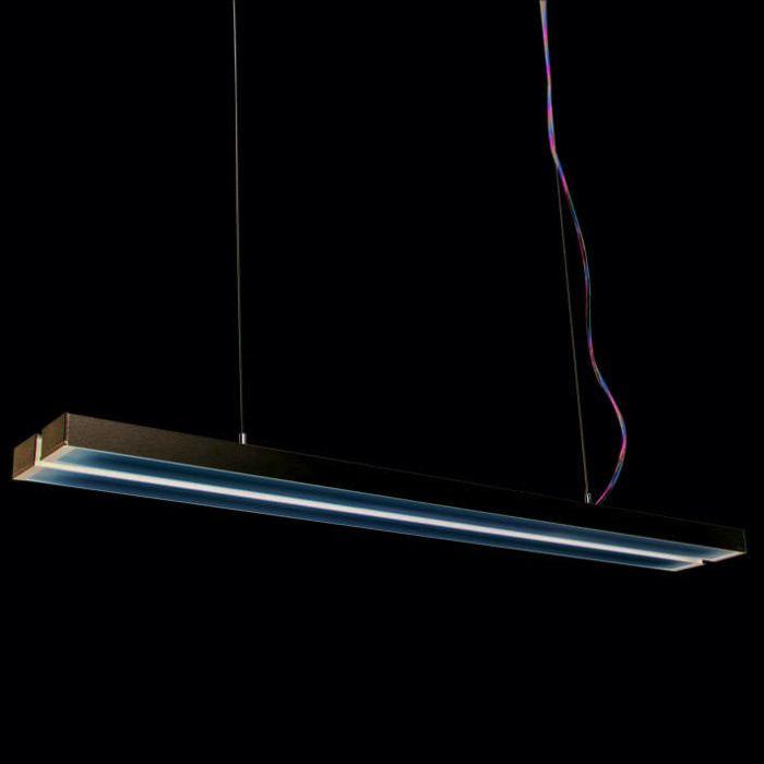 Lampă-suspendată-Tube-Q-Double-argintiu-2-x-28W