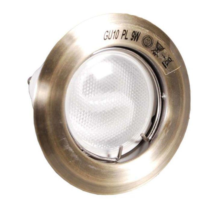 Spot-încastrat-Arde-bronz-cu-lampă-de-economisire-a-energiei