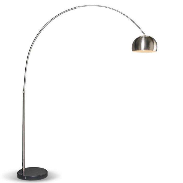 Lampă-modernă-arc-din-oțel-reglabilă---Grande