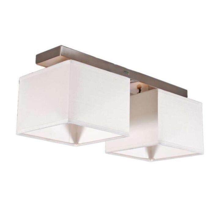 Lampă-de-tavan-VT-2-albă