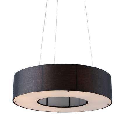 Lampă-suspendată-Drum-Open-60cm-negru