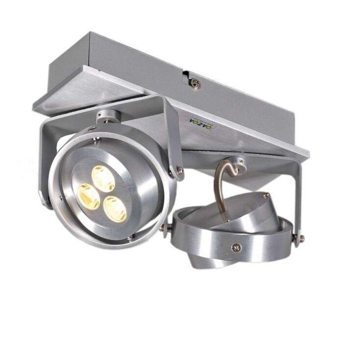 Spot-Keoni-2-LED-din-aluminiu