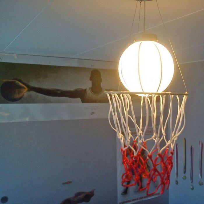 Lampă-suspendată-Baschet-pentru-copii