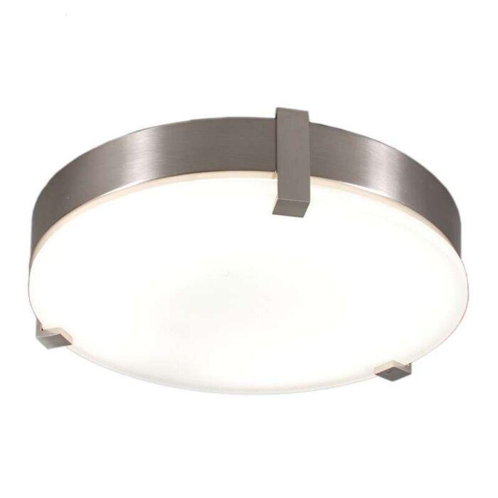 Lampă-de-tavan-Crook-rotundă-oțel-32W