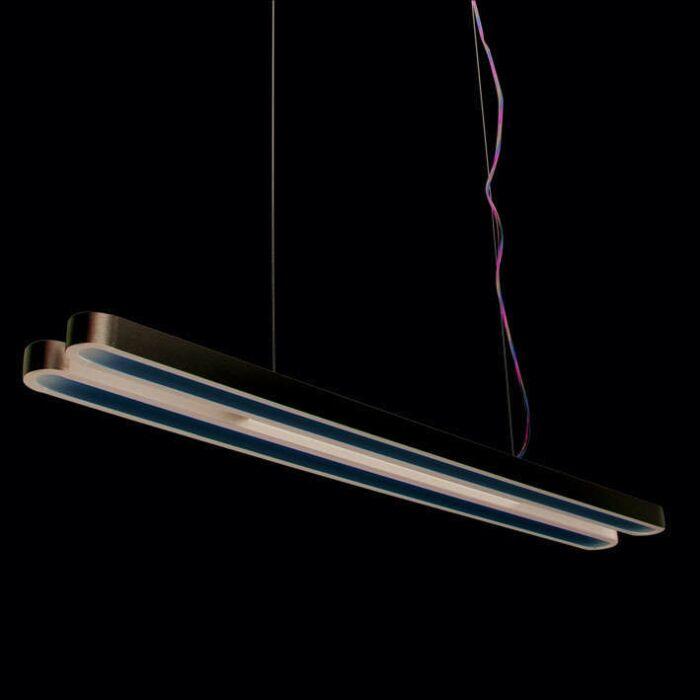 Lampă-suspendată-Tube-U-Double-28W-argintiu
