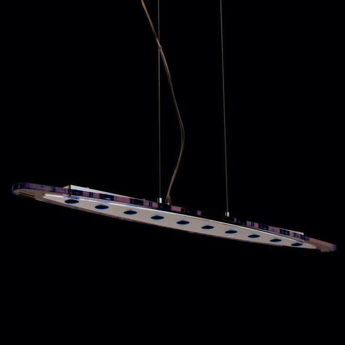 Lampă-suspendată-Credo-oval-100-LED-limpede