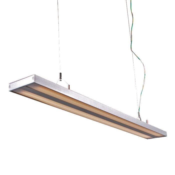 Lampă-suspendată-Tube-S-argintiu-2-x-28W