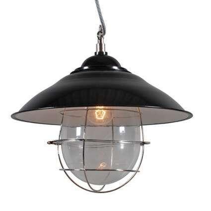Lampă-suspendată-Skipper-negru