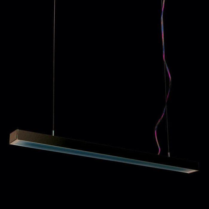 Lampă-suspendată-Tube-Q-argintiu-21W