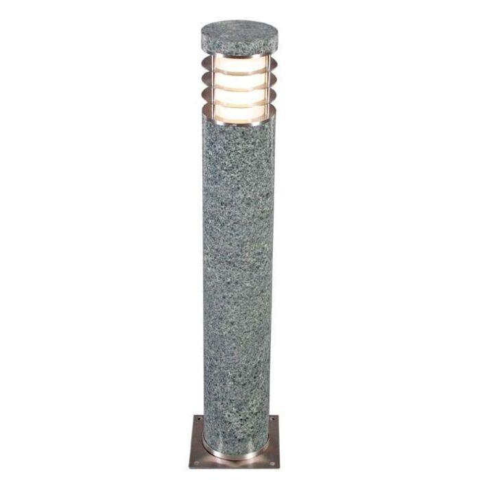 Lampă-de-exterior-Colin-Round-Stone-(DOAR-DE-COLECTAT)