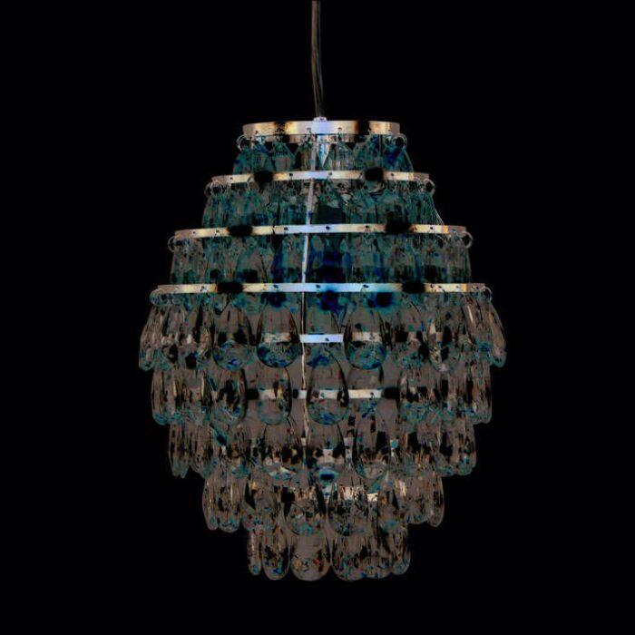 Lampă-suspendată-Pinecone-cromată