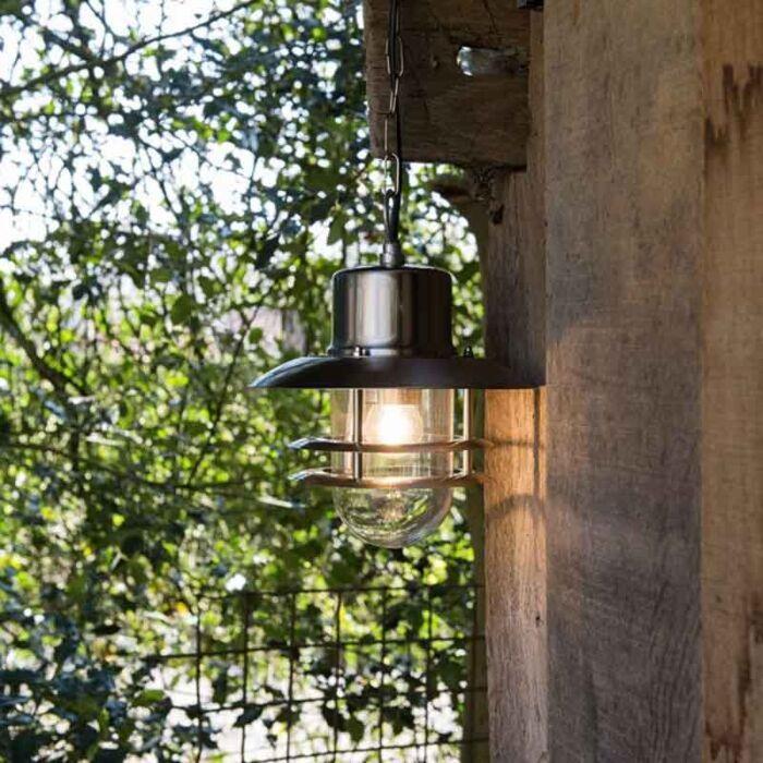 Lampă-suspendată-retro-din-oțel---Shell