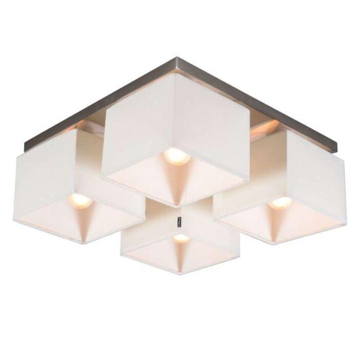 Lampă-de-tavan-VT-4-albă