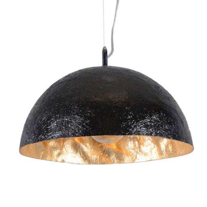 Lampă-suspendată-Magna-40-negru---auriu