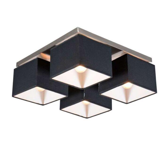 Lampă-de-tavan-VT-4-neagră